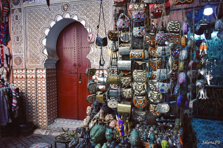 Morocco is full of intricate designs which can be seen in architecture, but also in handmade goods.