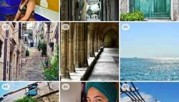 My top 9 photos on Instagram - photo from Morocco, Croatia, London and Canterbury